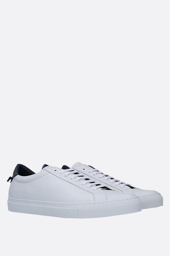 GIVENCHY: Urban Street smooth leather sneakers Color Blue_2