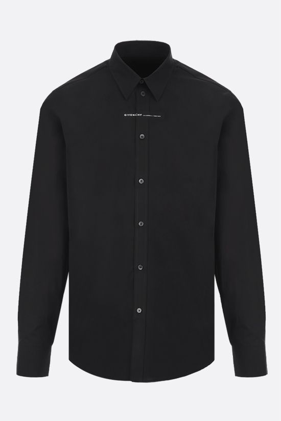 GIVENCHY: camicia Adresse Givenchy in cotone Colore Nero_1
