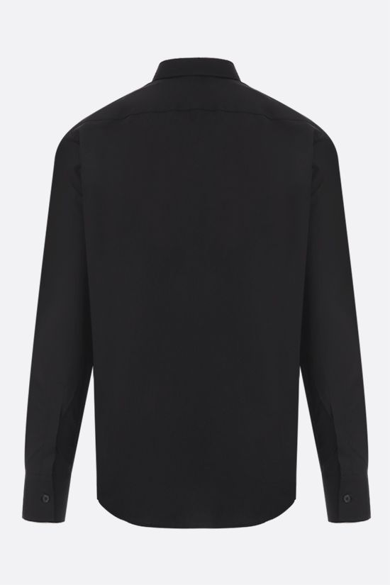 GIVENCHY: camicia Adresse Givenchy in cotone Colore Nero_2