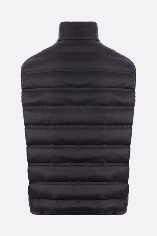GIVENCHY: Adresse Givenchy band-detailed padded nylon vest Color Black_2
