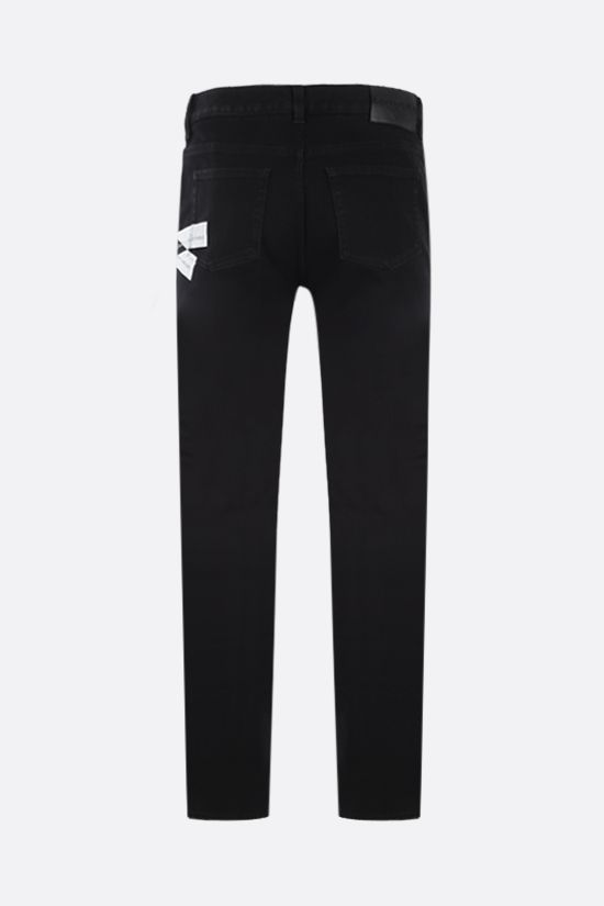 GIVENCHY: jeans slim-fit Givenchy Webbing Colore Nero_2