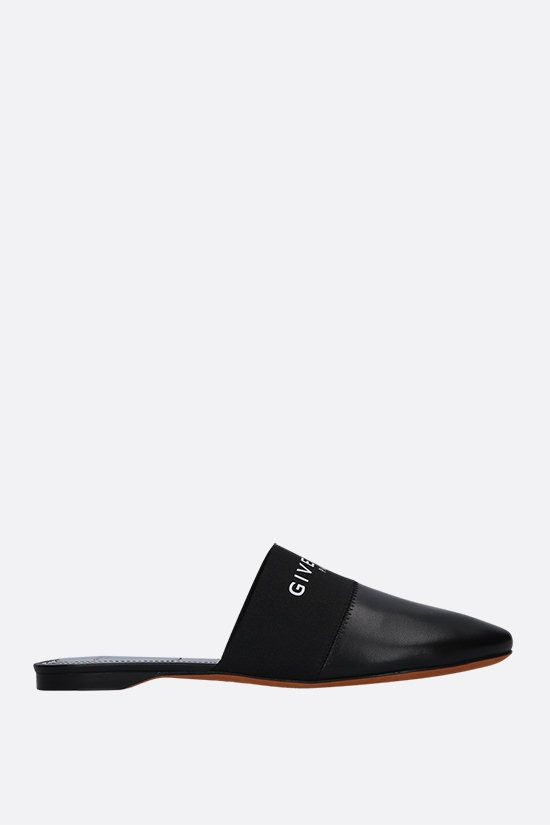 GIVENCHY: Bedford nappa slippers Color Black_1