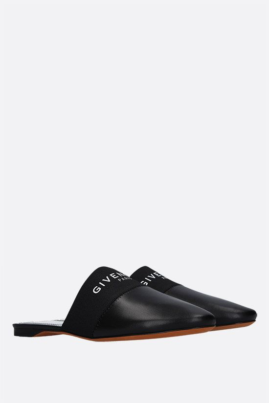 GIVENCHY: Bedford nappa slippers Color Black_2