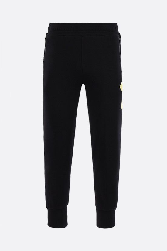 GIVENCHY: Adresse Givenchy print cotton joggers Color Black_1
