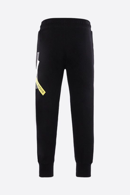 GIVENCHY: Adresse Givenchy print cotton joggers Color Black_2