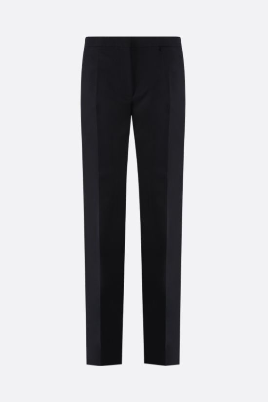 GIVENCHY: tapered-fit cotton pants Color Black_1
