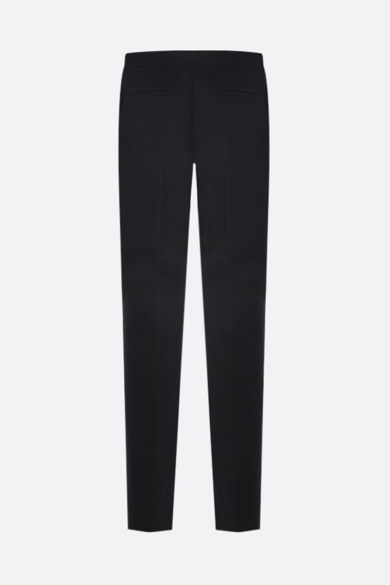 GIVENCHY: tapered-fit cotton pants Color Black_2