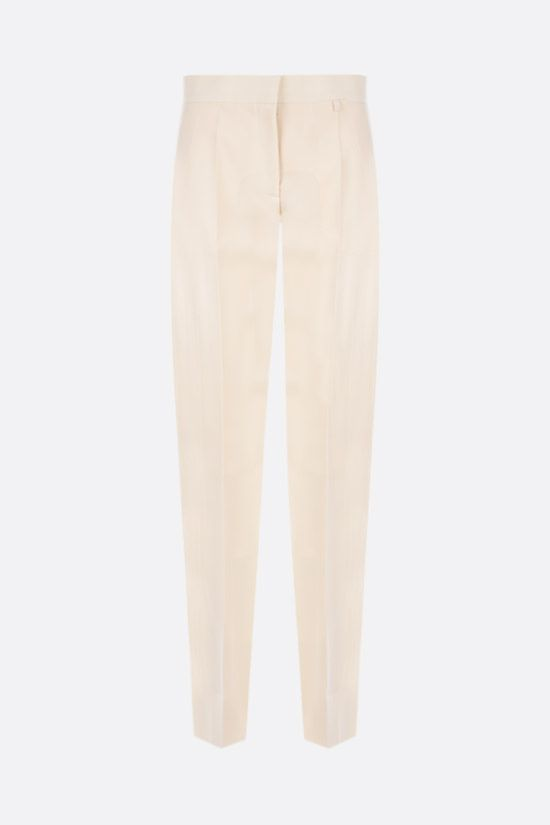 GIVENCHY: slim-fit wool pants Color Grey_1