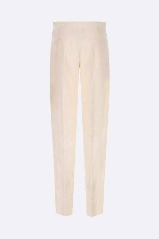 GIVENCHY: slim-fit wool pants Color Grey_2