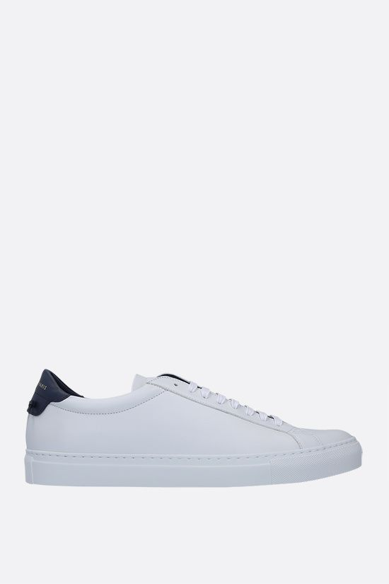 GIVENCHY: Urban Street smooth leather sneakers Color Blue_1