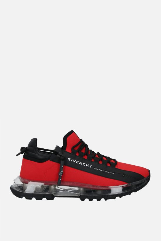GIVENCHY: Spectre ripstop nylon sneakers Color Red_1