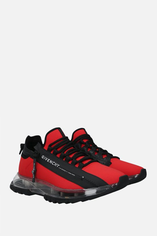 GIVENCHY: Spectre ripstop nylon sneakers Color Red_2