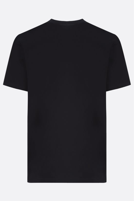 GIVENCHY: Givenchy Refracted cotton t-shirt Color Black_2
