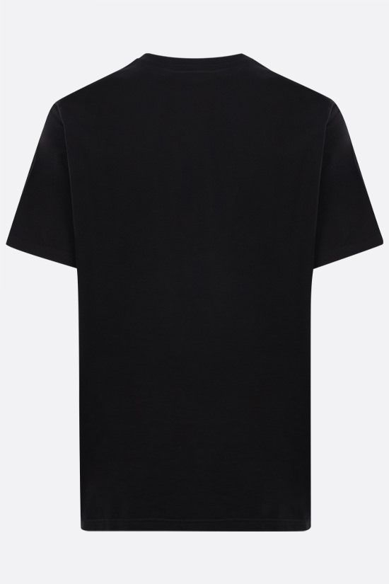 GIVENCHY: t-shirt in cotone stampa Givenchy Colore Nero_2