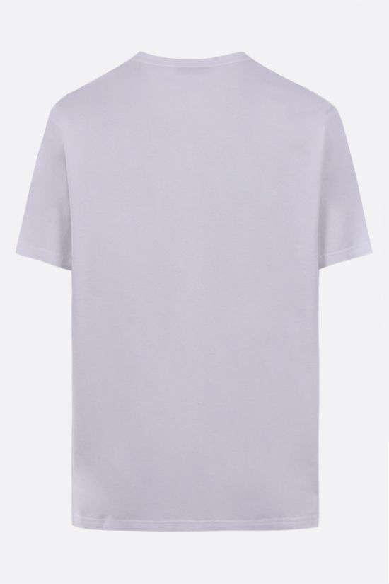 GIVENCHY: t-shirt in cotone stampa Adresse Givenchy Colore Bianco_2