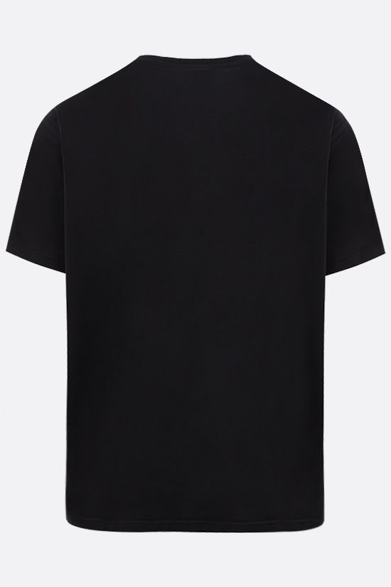 GIVENCHY: t-shirt in cotone stampa Adresse Givenchy Colore Nero_2