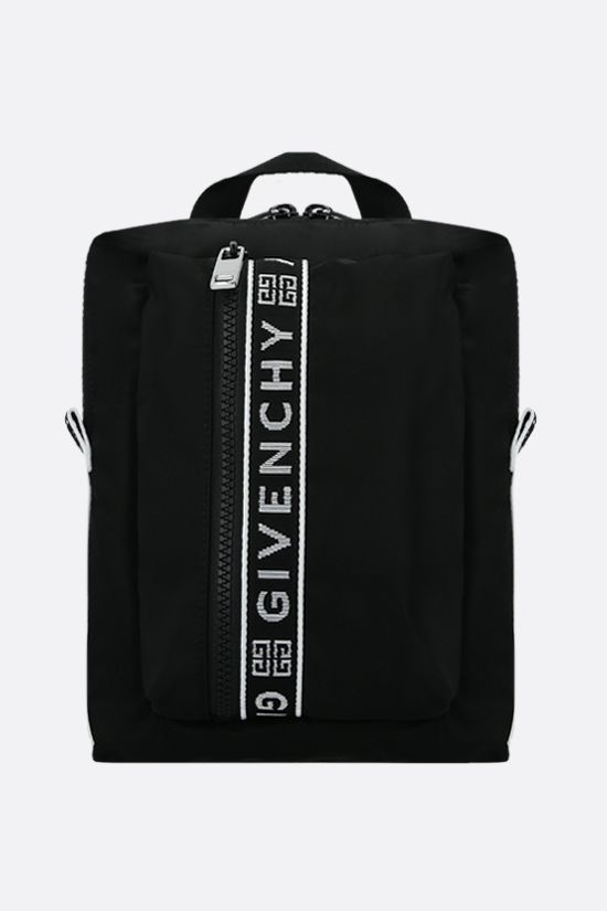 GIVENCHY: zaino monospalla Light 3 in nylon Colore Nero_1