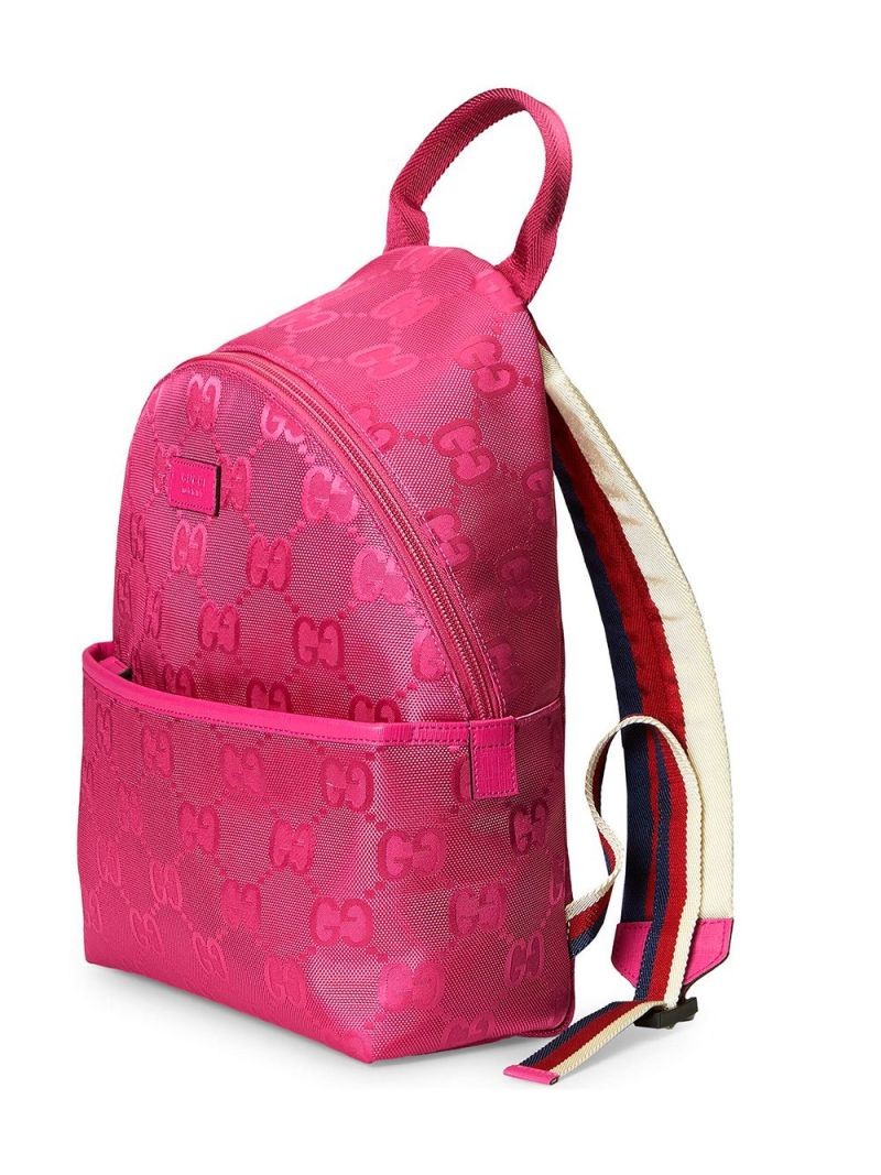 GUCCI CHILDREN: GG ECONYL® backpack Color Multicolor_2