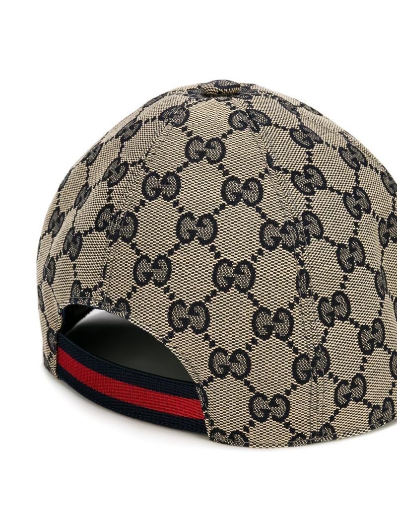 GUCCI CHILDREN: GG canvas baseball cap Color Brown_2