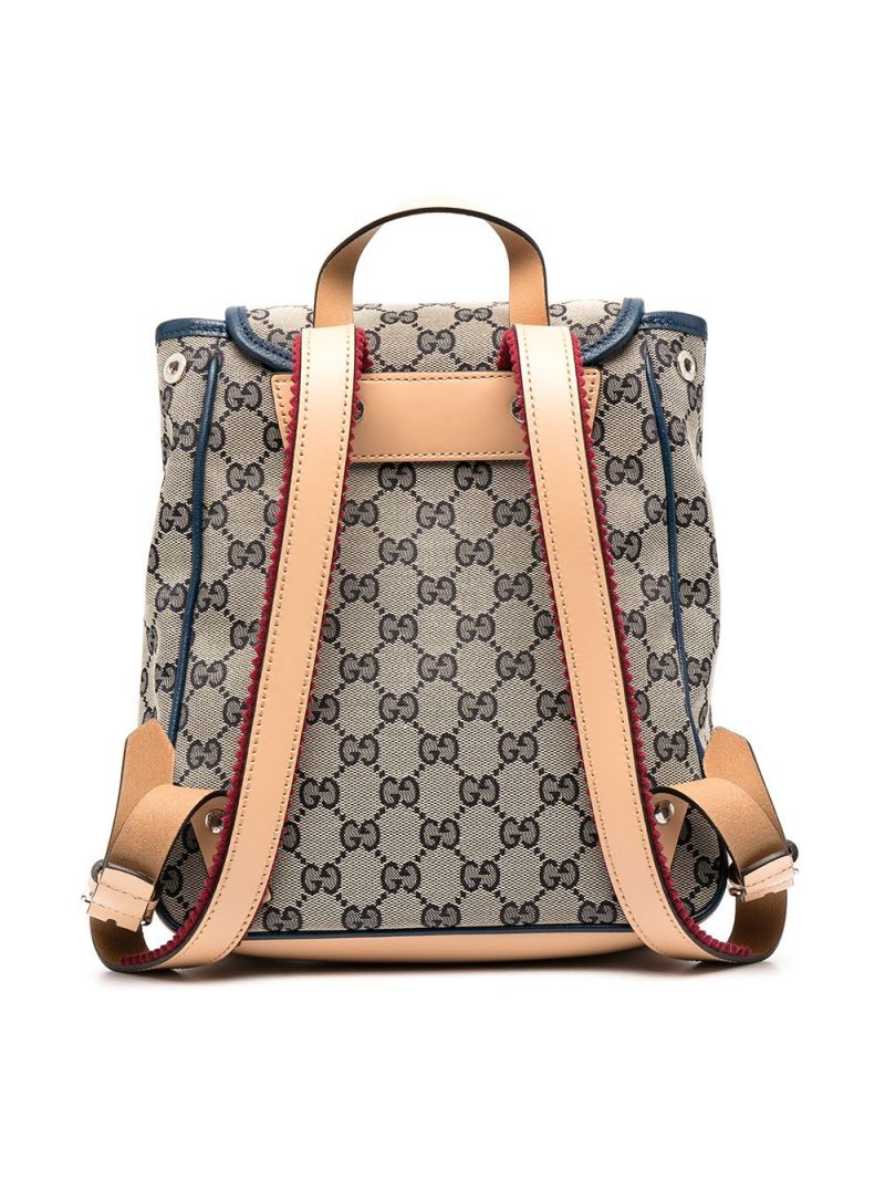 GUCCI CHILDREN: GG Supreme canvas backpack Color Multicolor_2