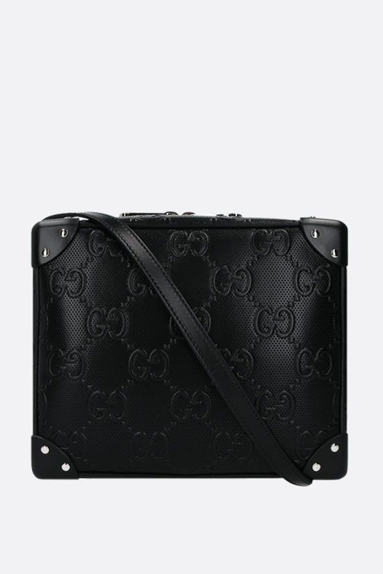 GUCCI: GG leather shoulder bag Color Black_1