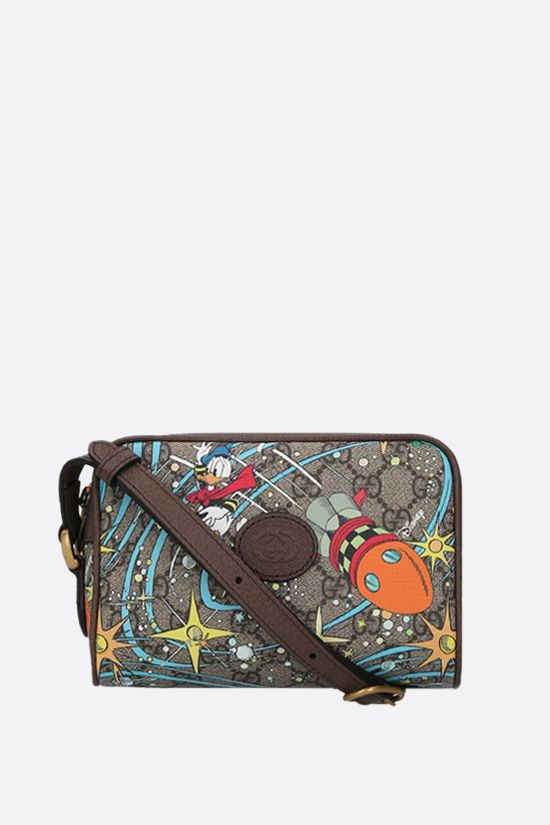 GUCCI: Disney x Gucci Donald Duck mini canvas crossbody bag Color Multicolor_1