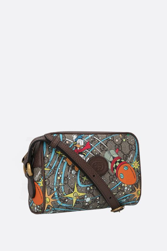GUCCI: Disney x Gucci Donald Duck mini canvas crossbody bag Color Multicolor_2