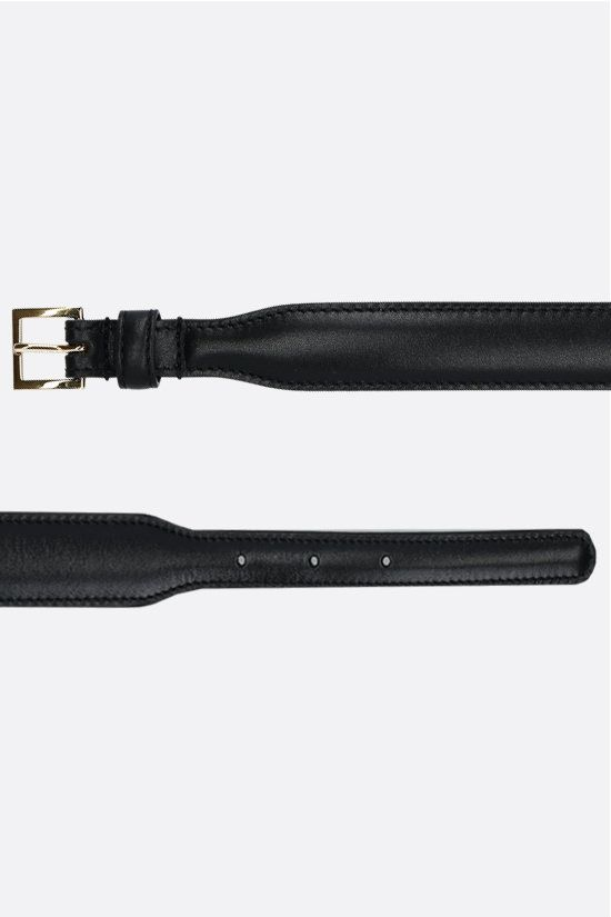 GUCCI: Horsebit-detailed smooth leather Color Black_2