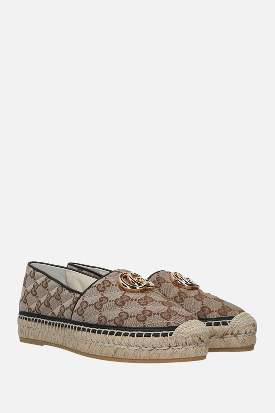 GUCCI: GG quilted canvas espadrilles Color Multicolor_2