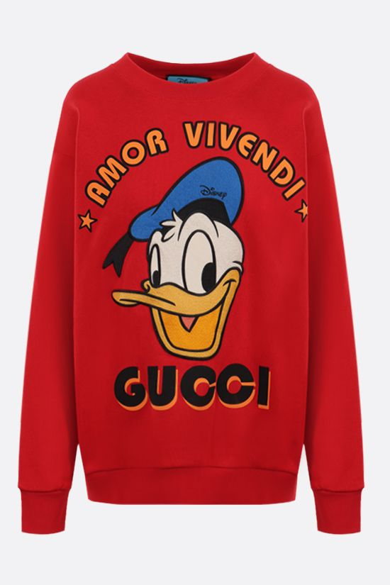 GUCCI: Donald Duck Disney x Gucci oversize cotton sweatshirt Color Multicolor_1