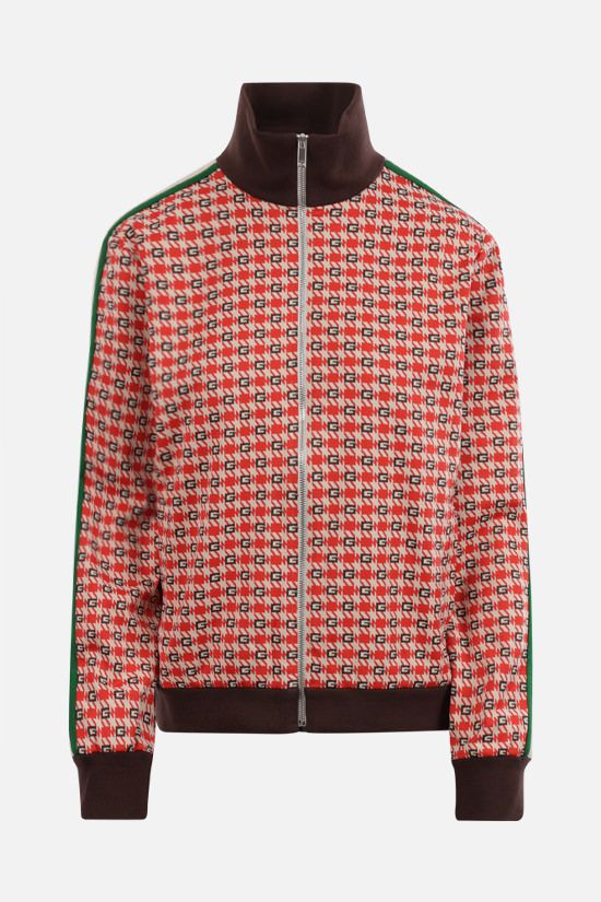 GUCCI: G geometric technical jacquard bomber jacket Color Multicolor_1