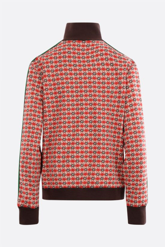GUCCI: G geometric technical jacquard bomber jacket Color Multicolor_2