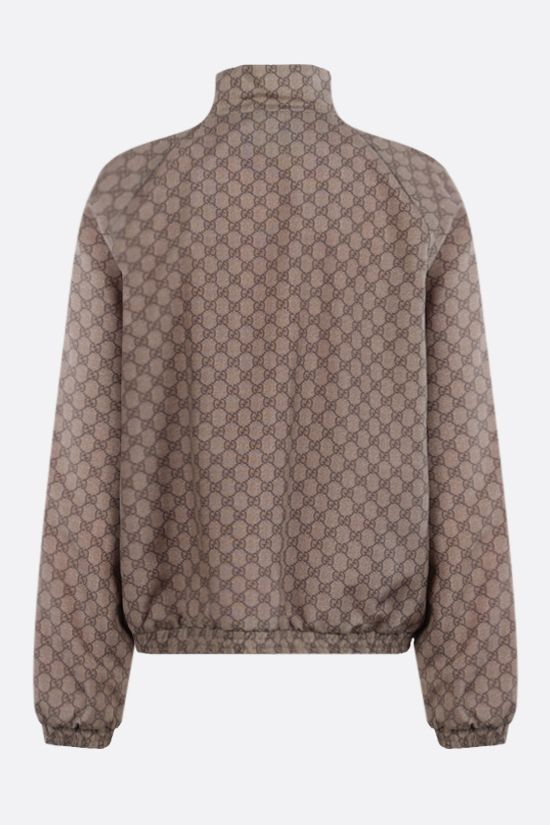 GUCCI: Disney x Gucci Donald Duck bomber jacket in GG Supreme nylon Color Brown_2