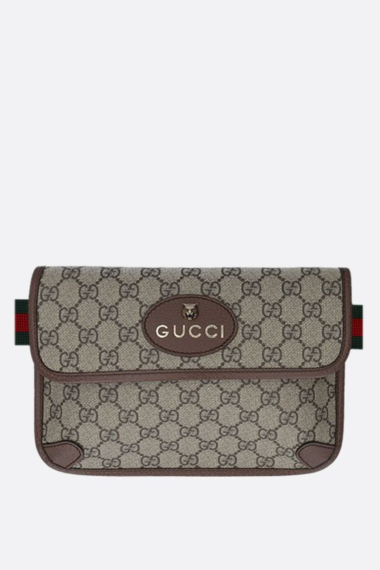 GUCCI: Neo Vintage belt bag in GG Supreme canvas Color Multicolor_1