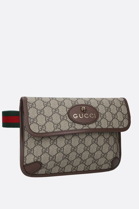 GUCCI: Neo Vintage belt bag in GG Supreme canvas Color Multicolor_2