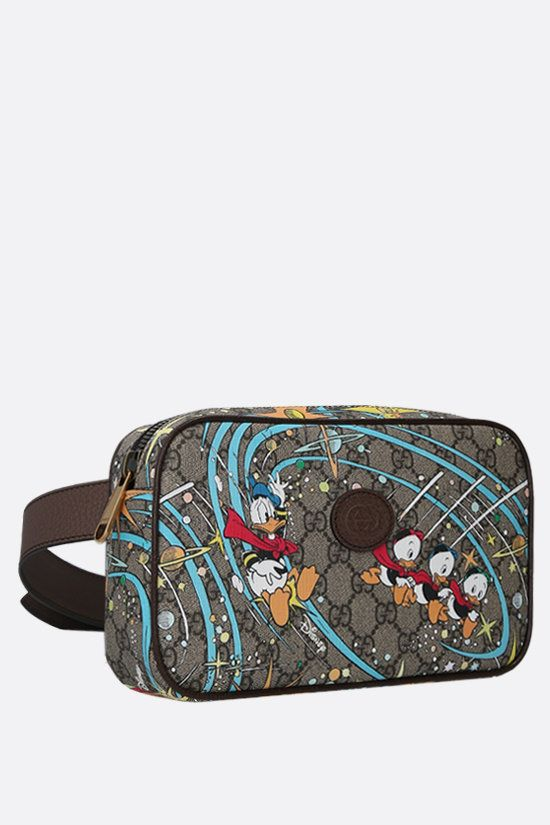 GUCCI: Disney x Gucci Donald Duck canvas belt bag Color Multicolor_2