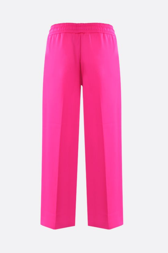 GUCCI: technical jersey cropped joggers Color Pink_2