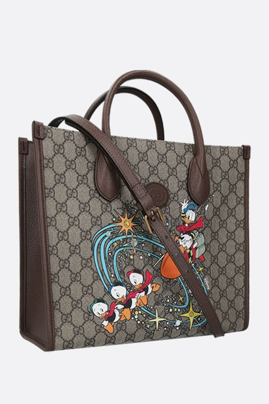 GUCCI: Disney x Gucci Donald Duck canvas tote bag Color Multicolor_2