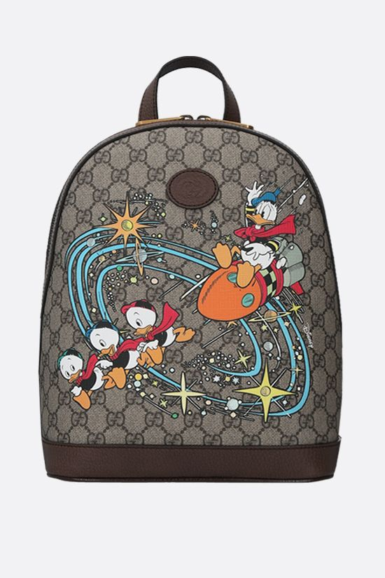 GUCCI: Disney x Gucci Donald Duck canvas backpack Color Multicolor_1
