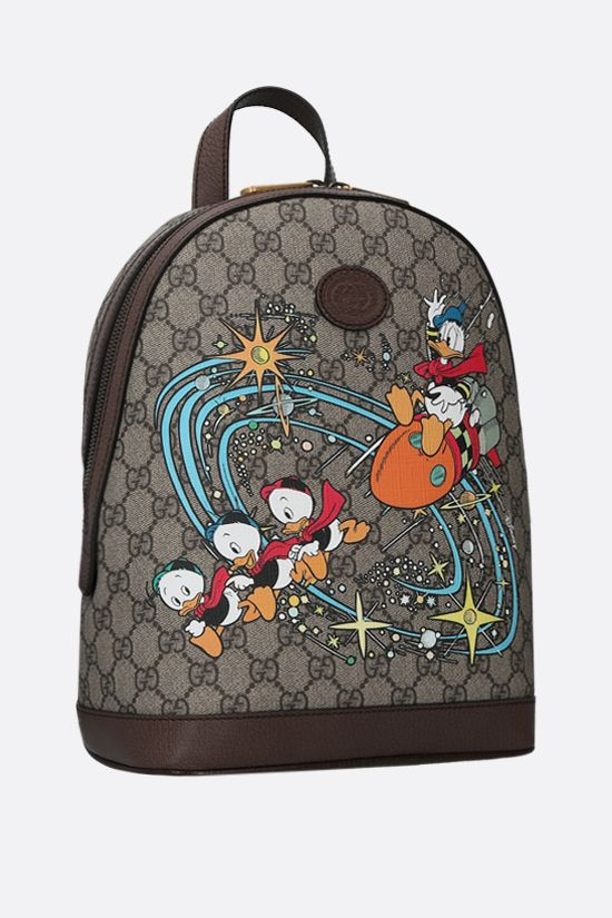 GUCCI: Disney x Gucci Donald Duck canvas backpack Color Multicolor_2