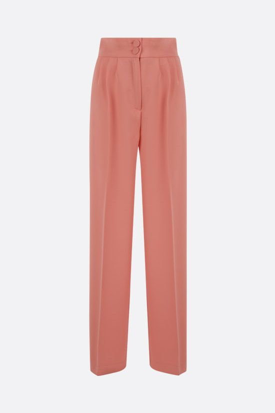 HEBE STUDIO: Girlfriend cady wide-leg pants Color Pink_1