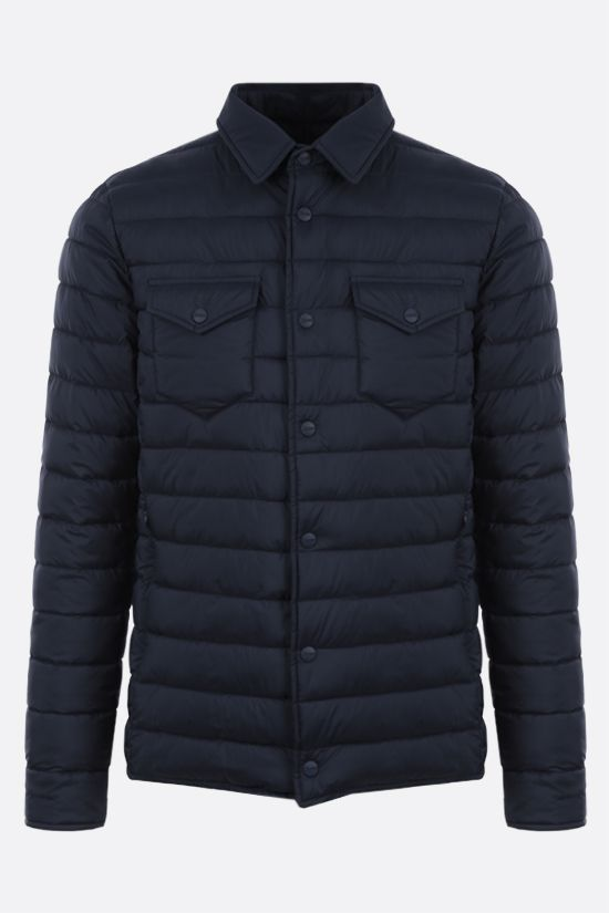 HERNO: Legend nylon padded jacket Color Blue_1