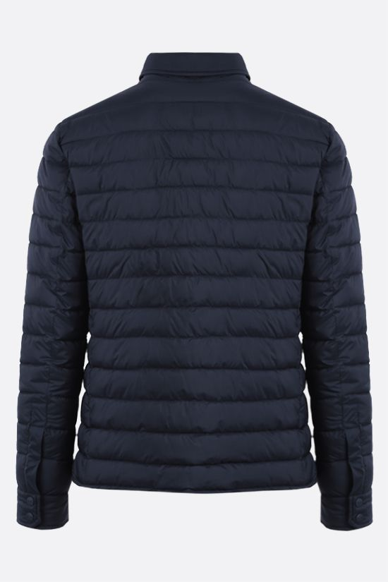 HERNO: Legend nylon padded jacket Color Blue_2