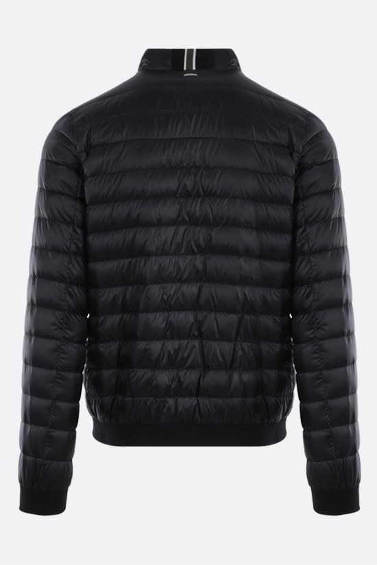 HERNO: ultralight nylon bomber down jacket Color Black_2