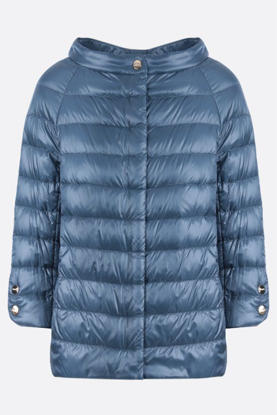 HERNO: Elsa ultralight nylon down jacket Color Blue_1