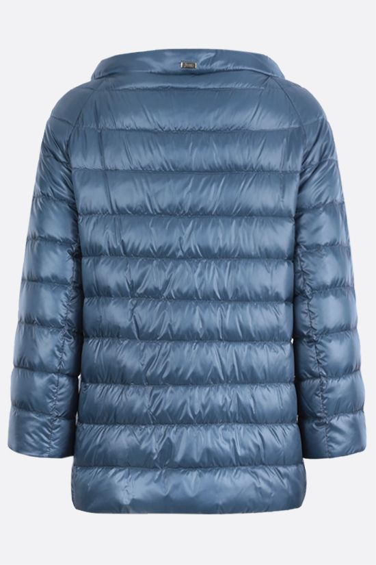HERNO: Elsa ultralight nylon down jacket Color Blue_2
