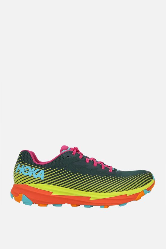 HOKA ONE ONE: Torrent 2 x Cotopaxi tech knit sneakers Color Multicolor_1