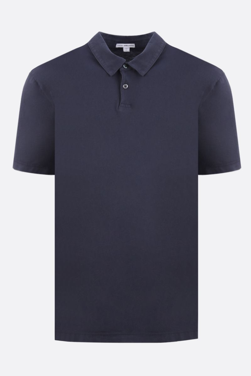 JAMES PERSE: regular-fit cotton jersey polo shirt Color Blue_1