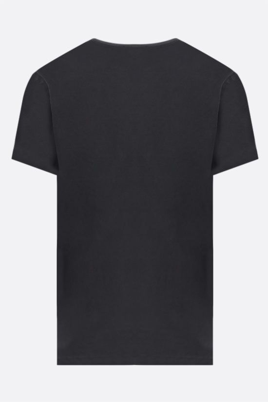 JAMES PERSE: pocket-detailed regular-fit cotton t-shirt Color Black_2