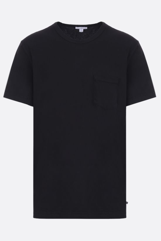 JAMES PERSE: pocket-detailed regular-fit cotton t-shirt Color Grey_1
